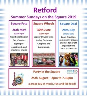 Look out for these Exciting Events in Retford!